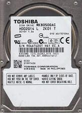 Toshiba MK8050GAC 80Gb 4200RPM ATAPI IDE 2.5-Inch Internal Hard Drive