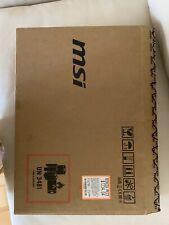MSI Creator 15M A9SD  Laptop Core i7-9750H 16GB RAM 512GB SSD GTX 1660Ti 6GB