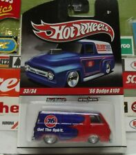 "HOT WHEELS 1:64 REAL RIDERS ""PHILLIPS 76"" '66 DODGE A100 33/34, R3754"