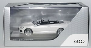 SPARK AUDI DEALER COLLECTION AUDI A5 Cabriolet- Tofana White in 1:43 Scale