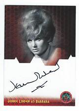 Dr Who & The Daleks Daleks Invasion Earth 2150AD Jennie Linden Autograph Card