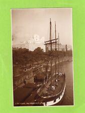 London the Embankment Sailing Ship unused RP pc Judges L583  Ref J298