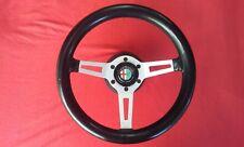 MOMO M 20340 Small Vintage Steering Wheel RARE Alfa Porsche Ferrari Maserati
