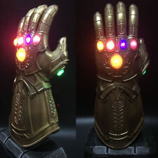 Avengers3 Infinity War Infinity Gauntlet LED Cosplay Thanos Gloves LED Props New