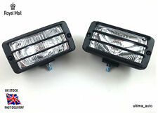 UNIVERSAL CAR HALOGEN SPOT FOG LIGHTS LAMP SET 12V 1023