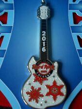 HRC Hard Rock Cafe Cologne Köln Holiday Ornament Guitar Brand New NWT OVP