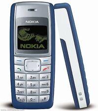 CHEAP NOKIA 1110 1110i BAR PHONES GRADE A+++ UNLOCKED MOBILE PHONE BLUE