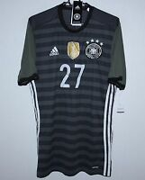 Germany National Team away player issue shirt 15/16 Adidas BNWT Adizero Size M