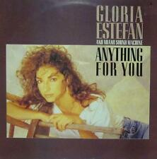 Gloria Estefan(Vinyl LP)Anything for You-UK-463125 1-Epic-Ex/Ex