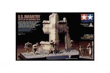 TAMIYA Scenery Set #3 WWII U.S. Infantry Battle of the Ardennes 1944 #89741 1/35
