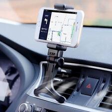 Coche Soporte Rejilla 360° Ajustable Montaje Para Móvil GPS Adaptable Universal