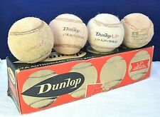 Vintage Dunlop Tennis Balls Long Play Pressureless Boxed Sports Authorised