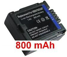 Akku 800mAh typ CGR-DU07 VW-VBD070 Für Hitachi DZ-BX35E