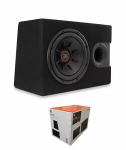 """JBL 1000 Watts 4 Ohm 10"""" Car Audio Subwoofer Enclosure with Slipstream Port"""