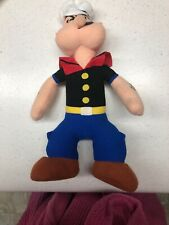 """Vintage 14"""" Popeye Plush Play By Play Stuffed Toy"""