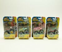 Hot Wheels Monster Trucks SpongeBob SquarePants Collection Lot of 4 TRUCKS