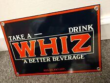 Pop Shoppe Fizz-Whiz Pop Bottle Twist Seal Vintage Pop Advertisement Promo
