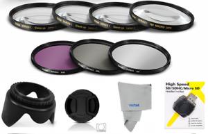 77MM HD UV-CPL-FLD HD FILTER KIT + MACRO LENS KIT+USB FOR  NIKON COOLPIX P1000