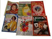 McCall's NEEDLEWORK & Crafts vintage Magazine Lot,  Ideas crochet, Vol. 1