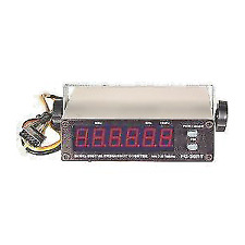 Workman FC-30RT RED COLOR FREQUENCY COUNTER for CB and Amateur Radio