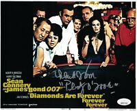 LANA WOOD Signed JAMES BOND Diamonds Are Forever 8x10 Photo Autograph JSA COA
