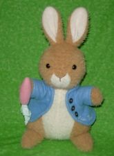 Eden Beatrix Potter PETER RABBIT Plush Stuffed Animal With Carrot 14""