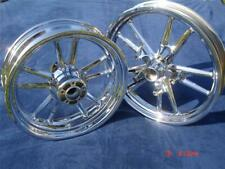 Harley Chrome Dyna Switchblade Wheels FXD,FXDL FXDB Fit 2008-2017 Exchange Only