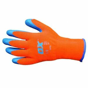 OX THERMAL GRIP GLOVES - SIZE 9 L OX-S248609 THERMAL WORK GLOVES