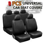 Car Seat Cover Front+Rear Full Set For Car Truck SUV Van Interior Seat Protector