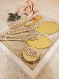 Mirror, Pinsel Und Mirror Set, Mirror Und Kamm Set, Bosses Tag Geschenk, Makeup