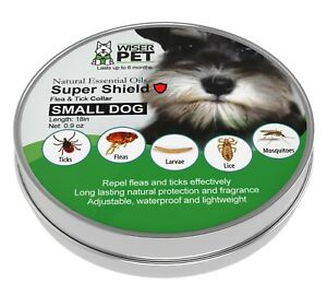 Natural Flea Collar for Dogs - Chemical Free Prevention of Fleas and Ticks
