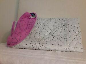 Pillowfort Quilt Twin Reversable Purple/Grey