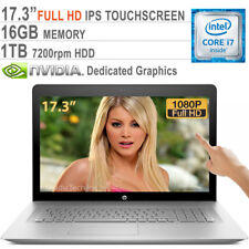 "HP ENVY 17T Core i7-7500U 3.5GHz / 16GB / 1TB/ 17.3"" FHD Touch / NVIDIA Graphics"