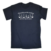 Funny Novelty T-Shirt Mens tee TShirt - Chemistry Is Like Cooking