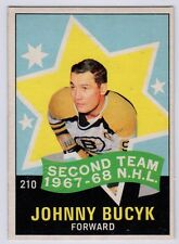 2003 Topps Vintage Embossed Buyback 1968 OPC Johnny Bucyk All Star