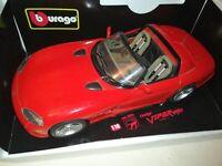 Bburago Diamond Dodge Viper RT/10 (1992) 1:18, 1/18 Scale, Diecast model.