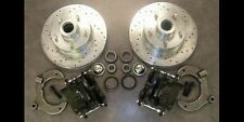 Mustang 2 Street Rod Big Disc Brake Kit Slotted Ford