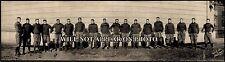 "1908 Harvard vs Yale Football Game New Haven CT Panoramic Photograph 17"" Long"
