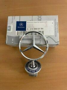 NEW Genuine Mercedes Bonnet Star Emblem Badge Genuine W210 A2108800186