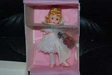 First Recital   8'' Madame Alexander Doll with violin #17024  New NRFB