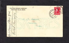 Color FISK TIRES Chicopee Falls MA 1906 Cover & Bill Knives Writing on Cover z9