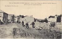 La grande guerre de 1914-16 - Entrée du village de MINAUCOURT  (F7750)