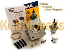14PS Tuning Zylinder 4 Kanal 70ccm Simson S51 KR51 Schwalbe SR50 Motor Vergaser