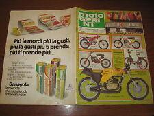 MOTOSPRINT 1978/48 PROVA TM 125 CROSS PUBBLICITA' SANAGOLA ALEMAGNA