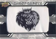 2014-15 Upper Deck AHL MANCHESTER MONARCHS Alternate Logo Patch #44 Kings
