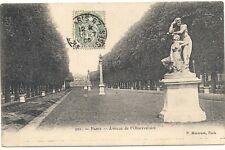 paris avenue de l'observatoire