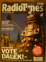 RADIO TIMES DOCTOR WHO 30th APRIL 2005 THE DALEKS ARE BACK