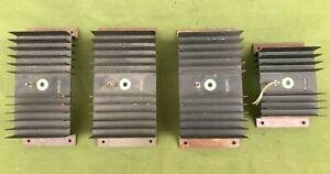 Kit 4 alette di raffreddamento (dissipatore) per diodi di potenza, da recupero