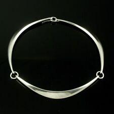 Hans Hansen. Modern Sterling Silver Neck Ring - Bent Gabrielsen - 1960s