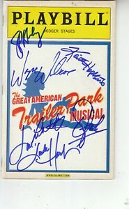 Seven performers SIGNED on 2005 Playbill